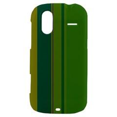 Green elegant lines HTC Amaze 4G Hardshell Case