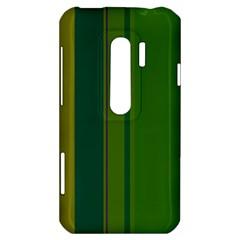 Green elegant lines HTC Evo 3D Hardshell Case