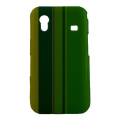 Green elegant lines Samsung Galaxy Ace S5830 Hardshell Case