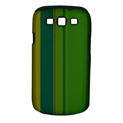 Green elegant lines Samsung Galaxy S III Classic Hardshell Case (PC+Silicone)