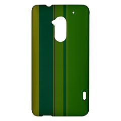 Green elegant lines HTC One Max (T6) Hardshell Case