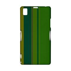 Green elegant lines Sony Xperia Z1