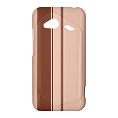 Elegant brown lines HTC Droid Incredible 4G LTE Hardshell Case