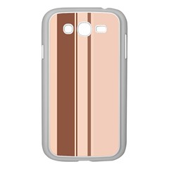 Elegant brown lines Samsung Galaxy Grand DUOS I9082 Case (White)