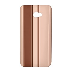 Elegant brown lines HTC Butterfly S/HTC 9060 Hardshell Case
