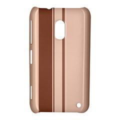 Elegant brown lines Nokia Lumia 620