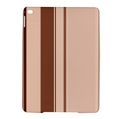 Elegant brown lines iPad Air 2 Hardshell Cases