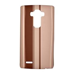 Elegant brown lines LG G4 Hardshell Case
