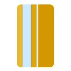 Yellow elegant lines Memory Card Reader