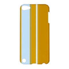 Yellow elegant lines Apple iPod Touch 5 Hardshell Case