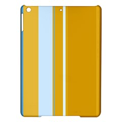 Yellow elegant lines iPad Air Hardshell Cases