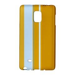 Yellow elegant lines Galaxy Note Edge