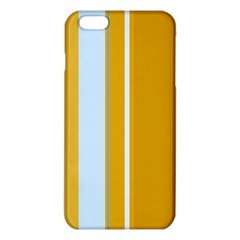 Yellow elegant lines iPhone 6 Plus/6S Plus TPU Case