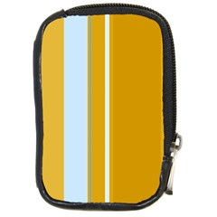 Yellow elegant lines Compact Camera Cases
