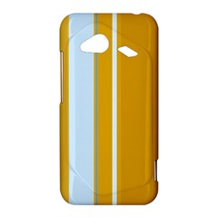 Yellow elegant lines HTC Droid Incredible 4G LTE Hardshell Case