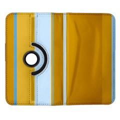 Yellow elegant lines Samsung Galaxy Note II Flip 360 Case