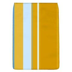 Yellow elegant lines Flap Covers (L)