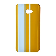 Yellow elegant lines HTC Butterfly S/HTC 9060 Hardshell Case