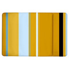 Yellow elegant lines iPad Air Flip