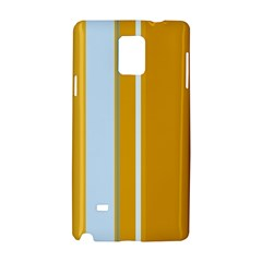 Yellow elegant lines Samsung Galaxy Note 4 Hardshell Case
