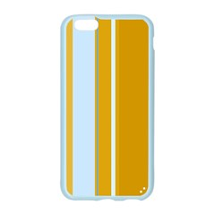Yellow elegant lines Apple Seamless iPhone 6/6S Case (Color)