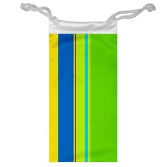 Colorful lines Jewelry Bags