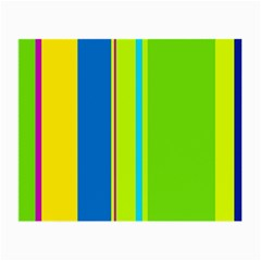 Colorful lines Small Glasses Cloth (2-Side)