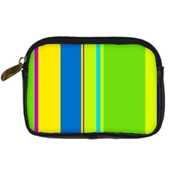 Colorful lines Digital Camera Cases
