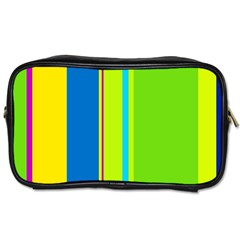 Colorful lines Toiletries Bags