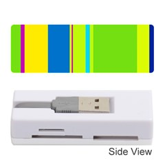 Colorful lines Memory Card Reader (Stick)