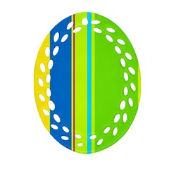 Colorful lines Ornament (Oval Filigree)