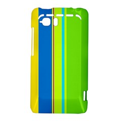 Colorful lines HTC Vivid / Raider 4G Hardshell Case