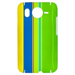 Colorful lines HTC Desire HD Hardshell Case