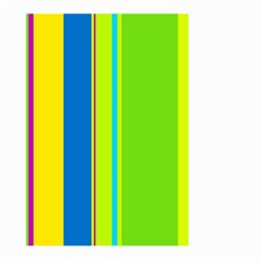 Colorful lines Large Garden Flag (Two Sides)