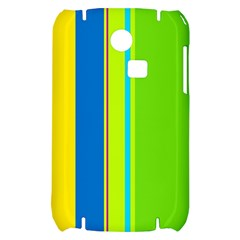 Colorful lines Samsung S3350 Hardshell Case
