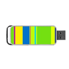 Colorful lines Portable USB Flash (Two Sides)