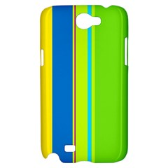 Colorful lines Samsung Galaxy Note 2 Hardshell Case
