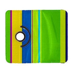 Colorful lines Samsung Galaxy S  III Flip 360 Case