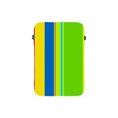 Colorful lines Apple iPad Mini Protective Soft Cases