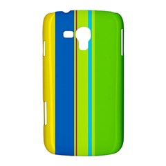Colorful lines Samsung Galaxy Duos I8262 Hardshell Case