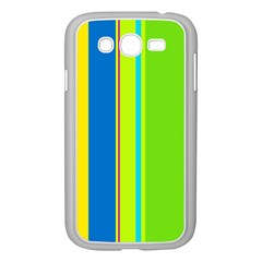 Colorful lines Samsung Galaxy Grand DUOS I9082 Case (White)