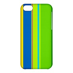 Colorful lines Apple iPhone 5C Hardshell Case