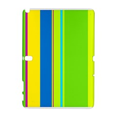 Colorful lines Samsung Galaxy Note 10.1 (P600) Hardshell Case