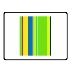 Colorful lines Double Sided Fleece Blanket (Small)