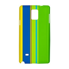 Colorful lines Samsung Galaxy Note 4 Hardshell Case