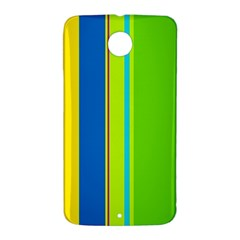 Colorful lines Nexus 6 Case (White)