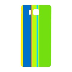 Colorful lines Samsung Galaxy Alpha Hardshell Back Case