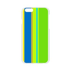 Colorful lines Apple Seamless iPhone 6/6S Case (Transparent)