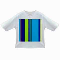 Blue and green lines Infant/Toddler T-Shirts