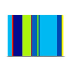 Blue and green lines Plate Mats